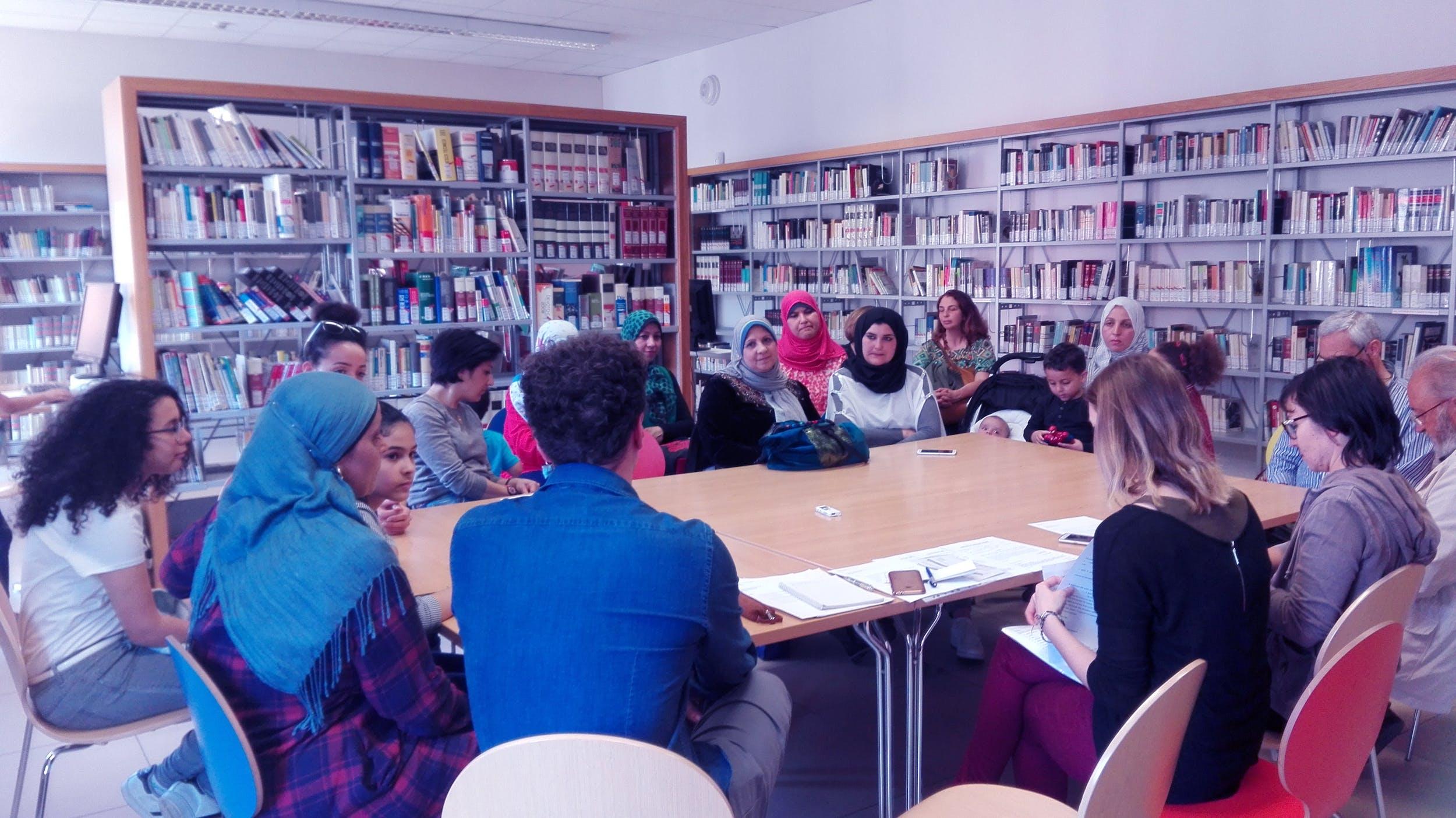 Uno degli incontri organizzati dal Dipartimento di Mediazione Culturale e Accessibilità