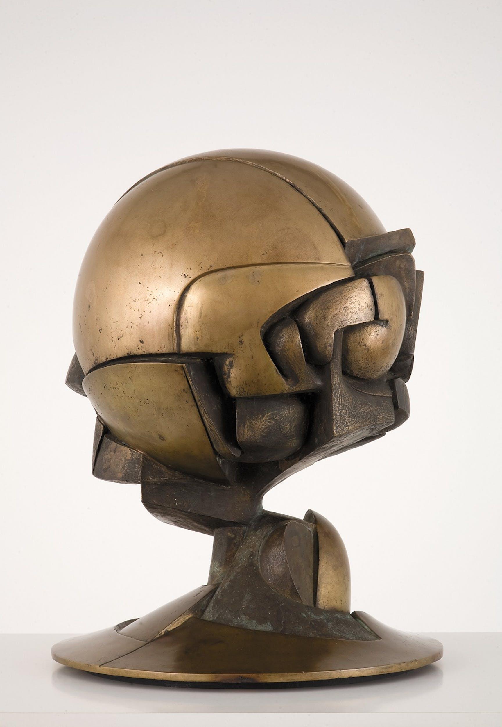 Fritz Koenig. Kugelkaryatide N.Y. Cariatide sferica V N.Y., 1968 bronzo Fondazione Fritz e Maria Koenig