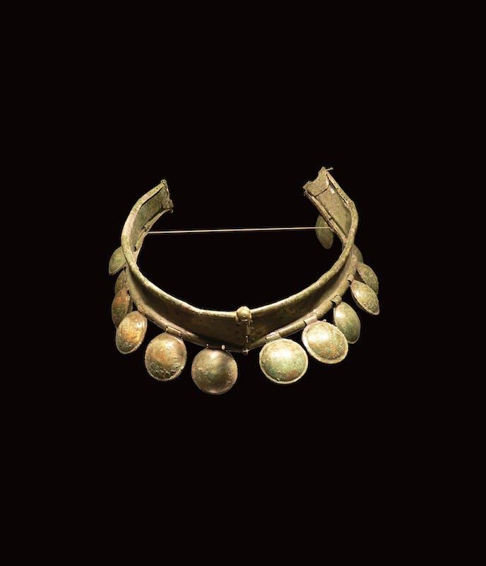 Sonagliera, V secolo a.C. Bronzo Piombino, Museo Archeologico del territorio di Populonia