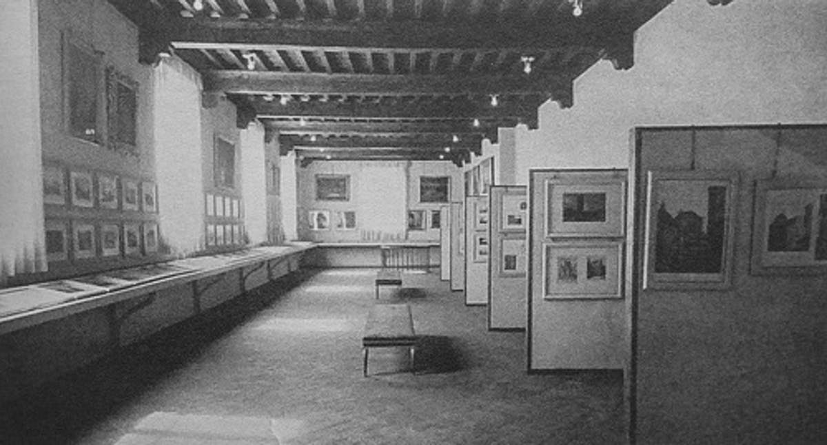 fig.3 il Museo di Firenze com'era, nell'allestimento al primo piano del Complesso delle Oblate, nel 1955 (tratto da  Lucchesi 2012, 121) - Museum of Florence as it was, set out on the first floor of the Oblate Complex, in 1955 (from:  Lucchesi 2012, 121).