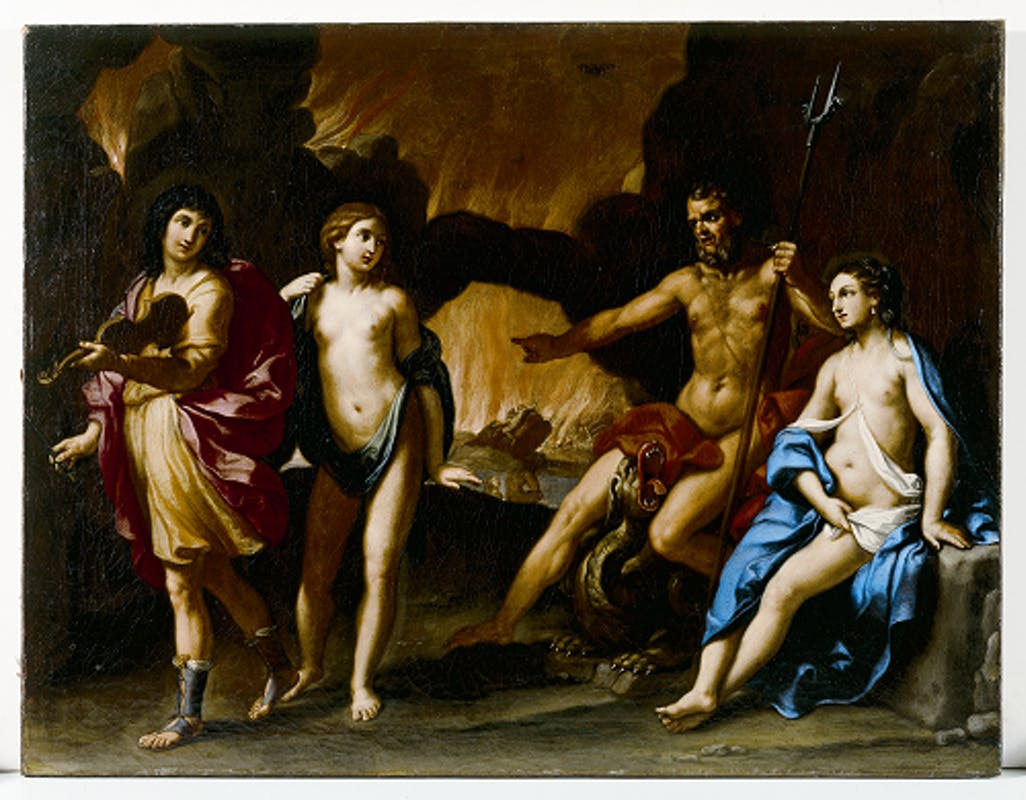 Fig. 3 Elisabetta Sirani, Orfeo salva Euridice dagli inferi, Modena, collezione privata L. Zanasi – Elisabetta Sirani, Orpheus Rescues Eurydice from the Underworld, Modena, private collection L. Zanasi.
