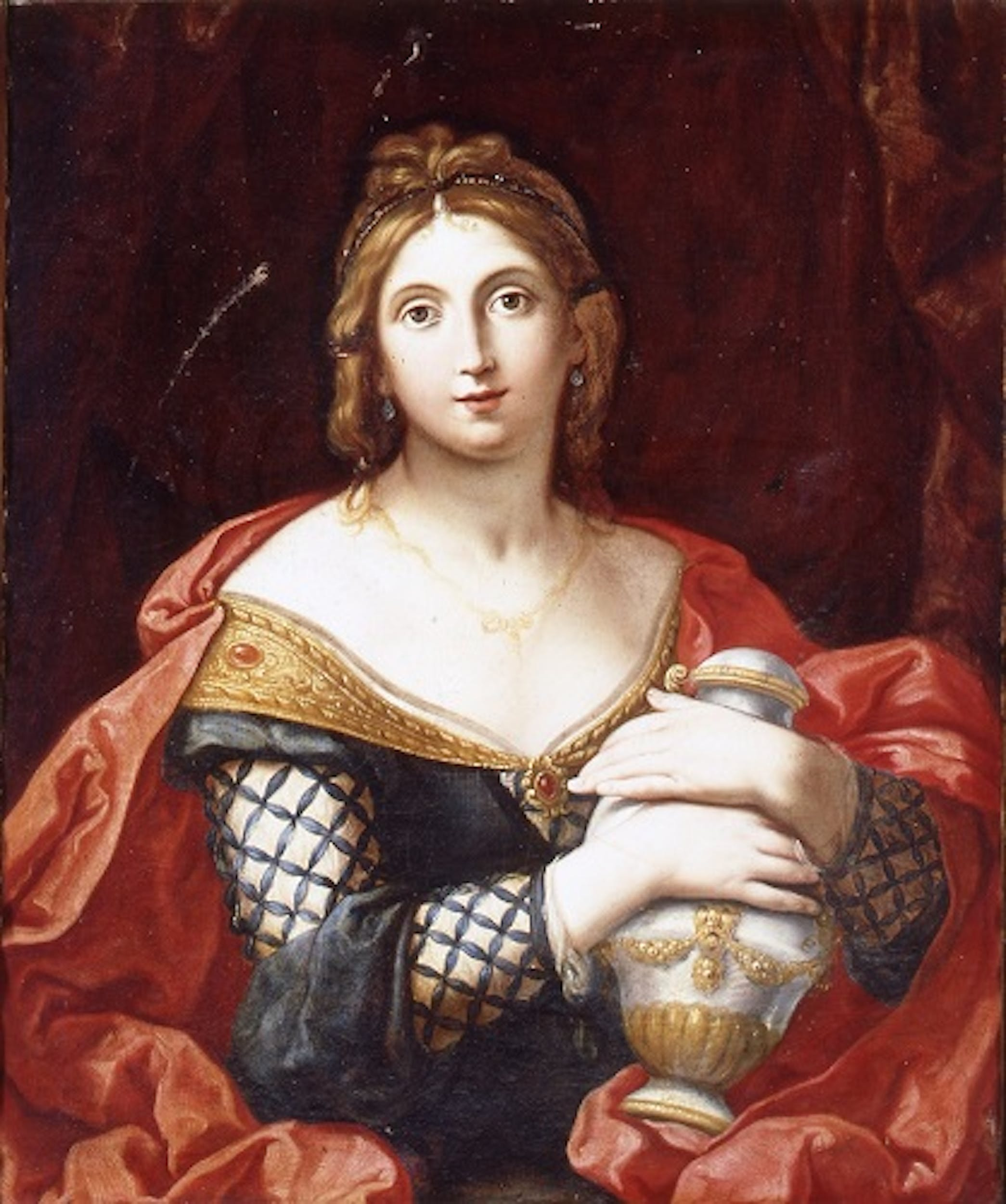 Fig. 4 Elisabetta Sirani, Artemisia, Modena, collezione privata - Elisabetta Sirani, Artemisia, Modena, private collection L. Zanasi.