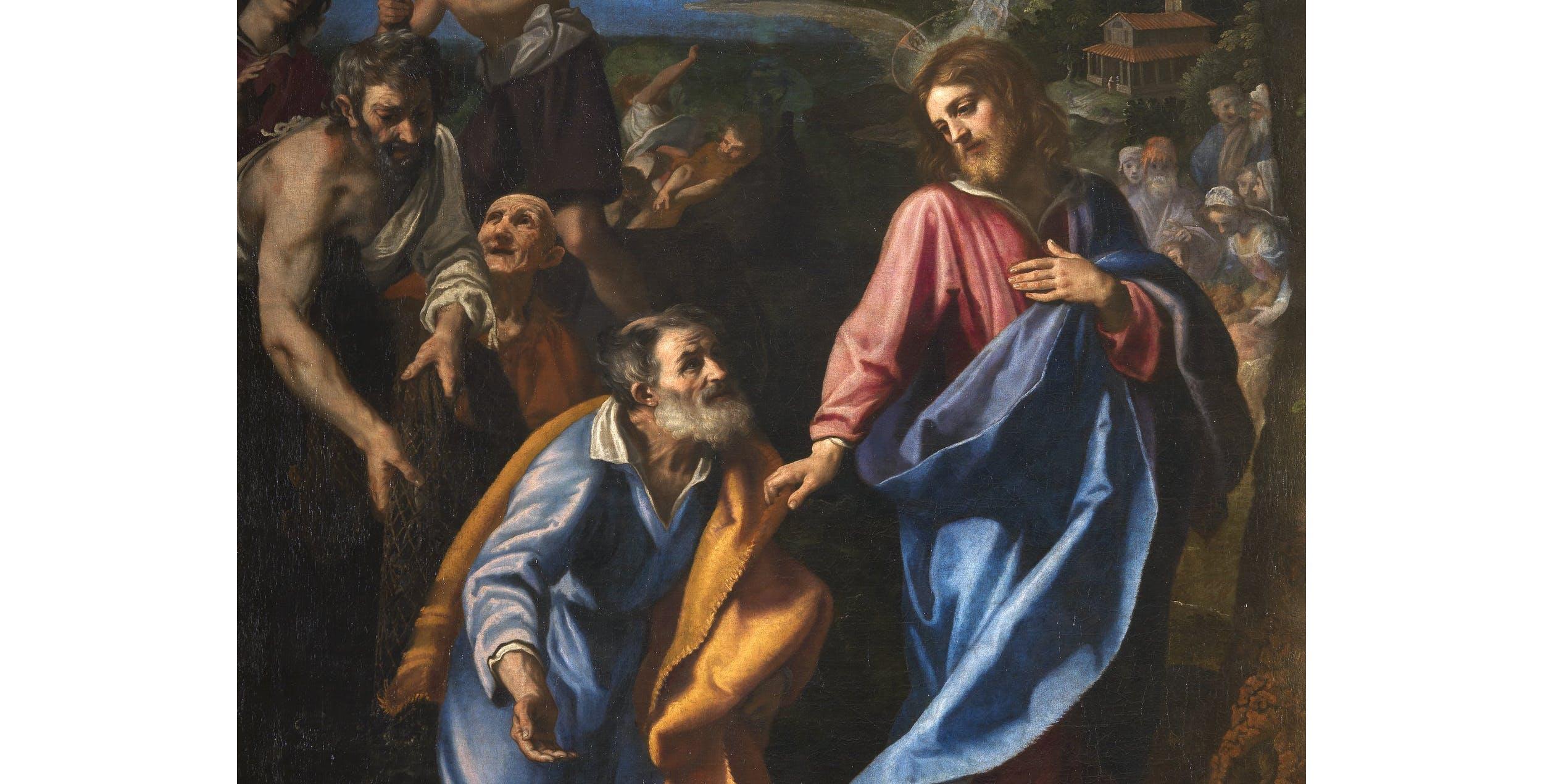 Il Cigoli, La vocazione di Pietro e Andrea