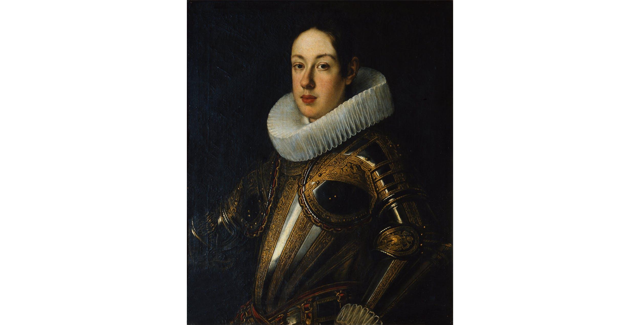 J. Suttermans, Ritratto di Ferdinando II con l'armatura