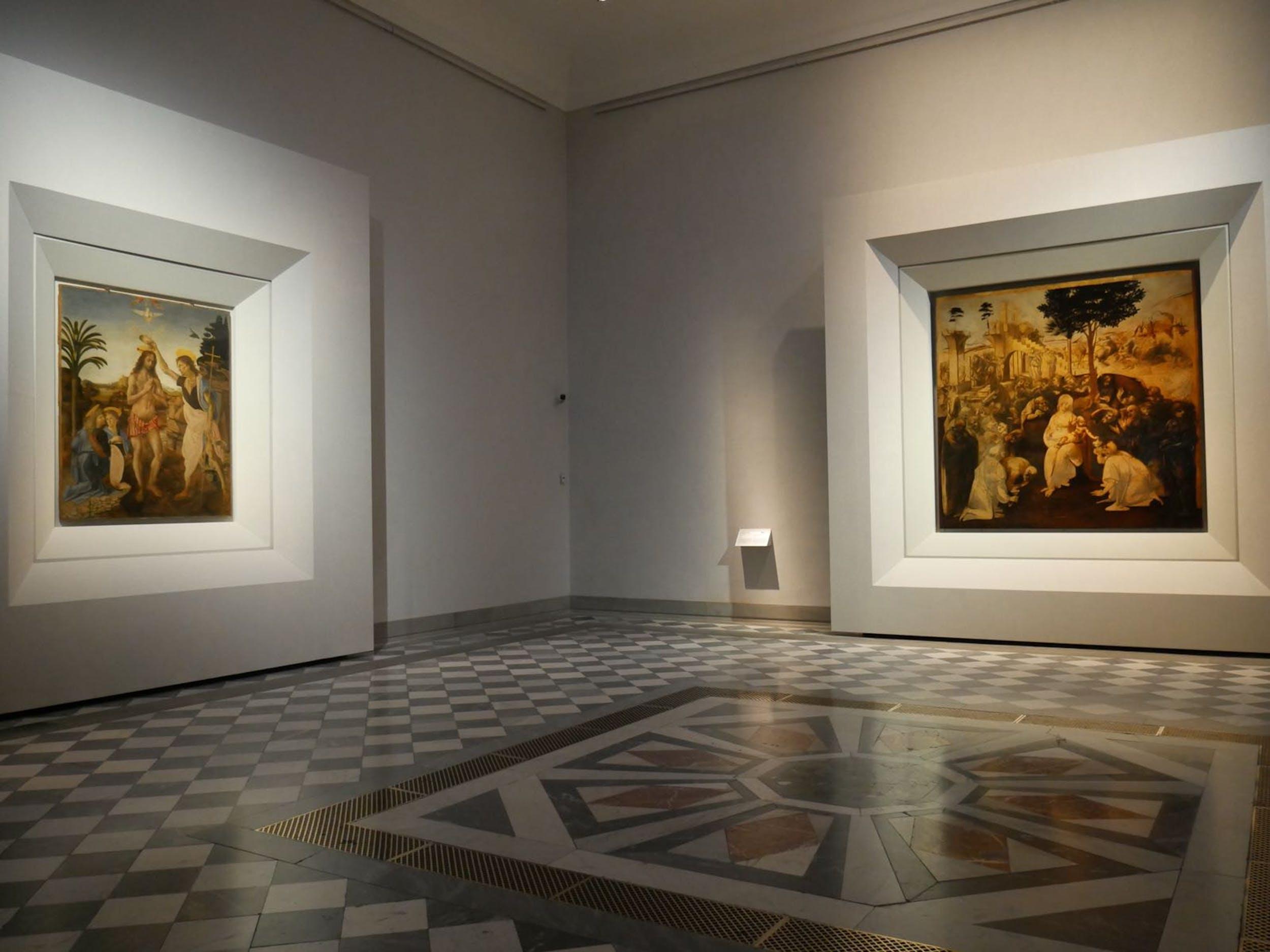 Sala 35 - Nuova sala di Leonardo
