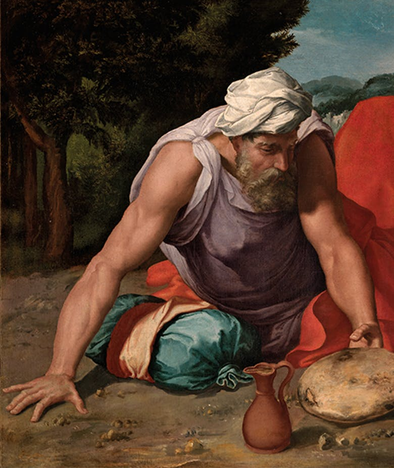 "A 16th-century masterpiece enters the Uffizi's collection: ""Elijah in the desert"""
