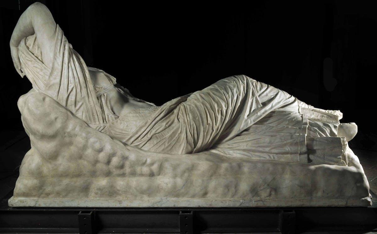 Arianna dormiente, Arte romana, II sec. d. C. | Sleeping Ariadne, II century a.C.