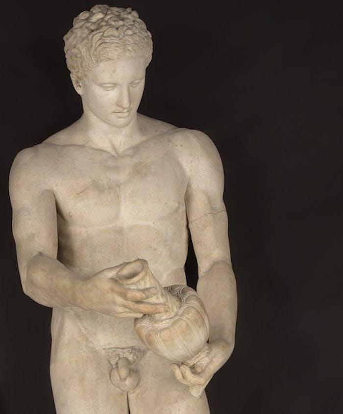 Apoxyomenos (atleta con lo strigile), Arte romana