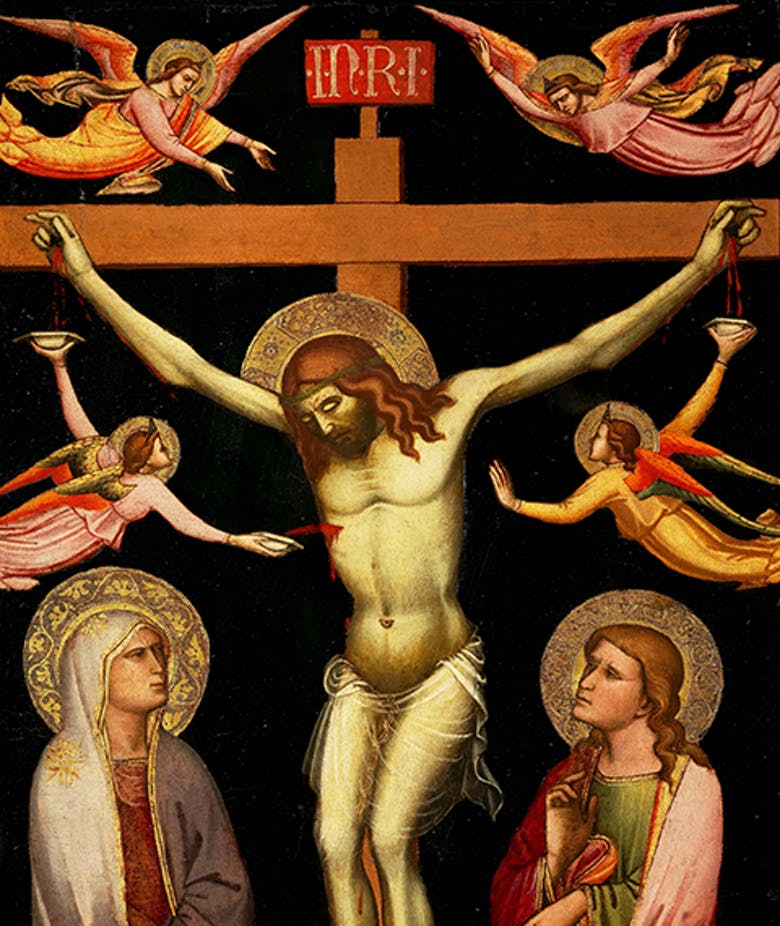 Crucifixion by Niccolò di Pietro Gerini