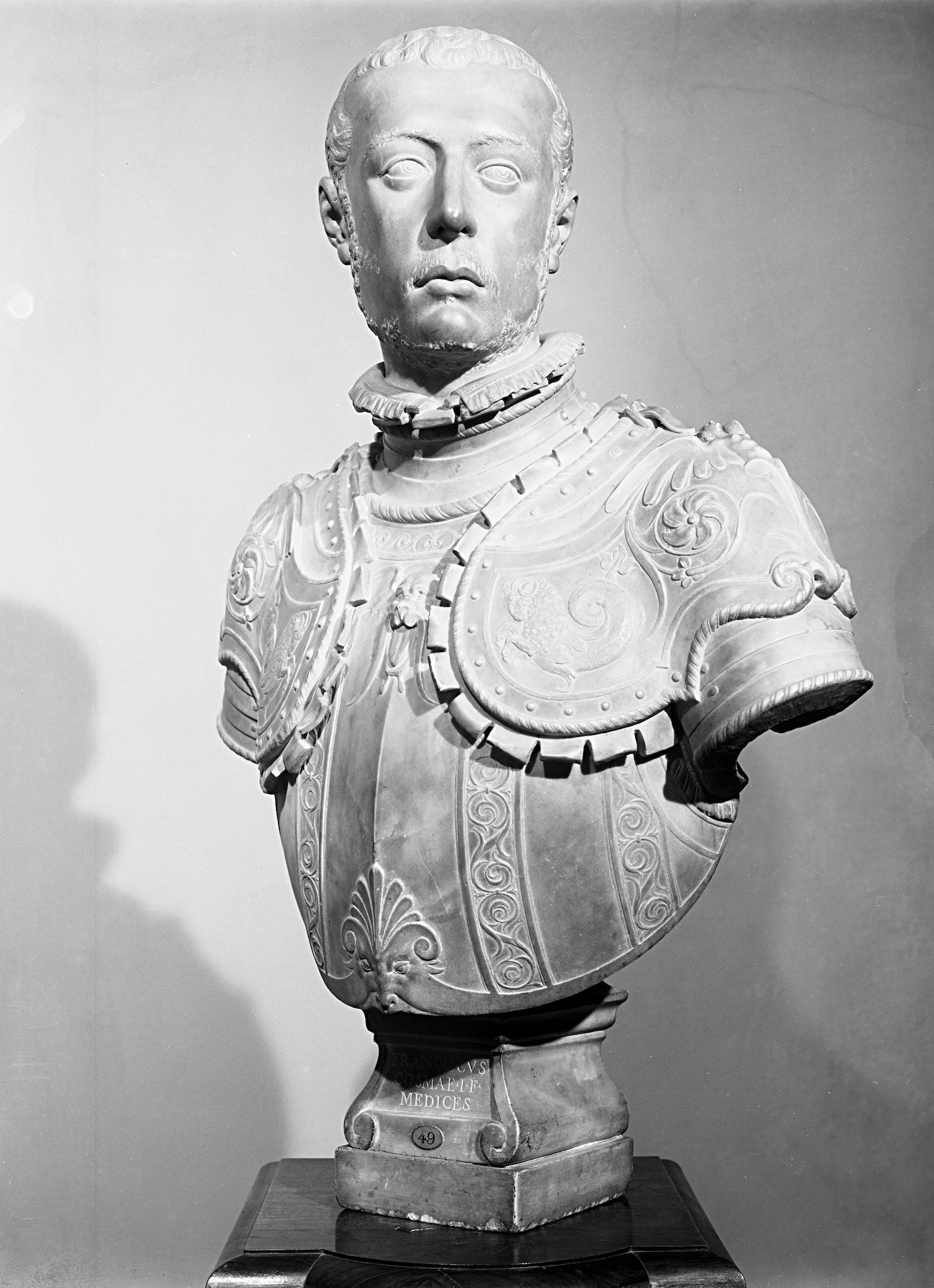 Fig. 5 Domenico Poggini, Francesco I de' Medici.
