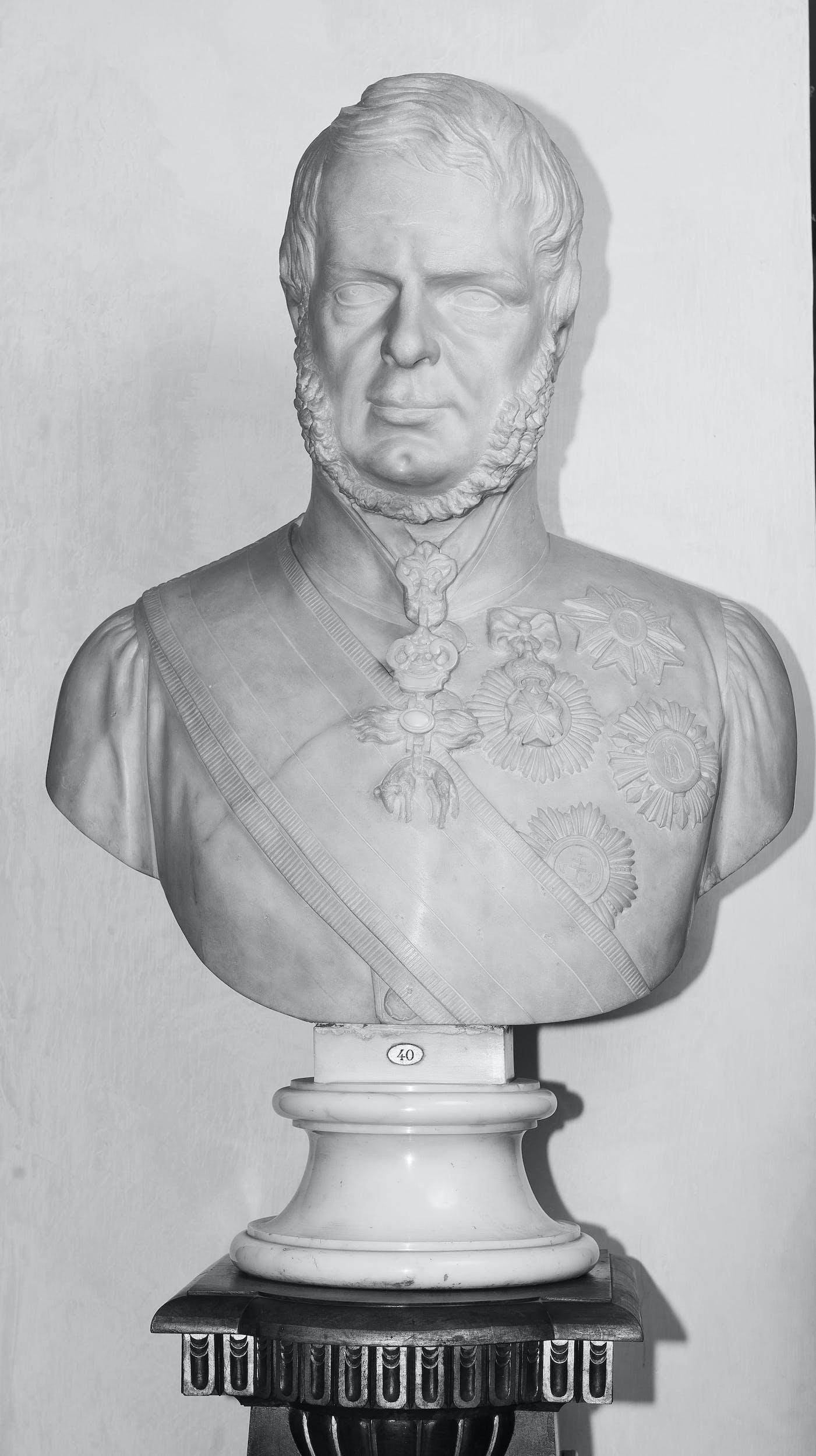 Fig. 13 Ottavio Giovannozzi, Leopoldo II di Lorena.