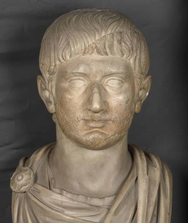 Portrait of a man, Gallienus