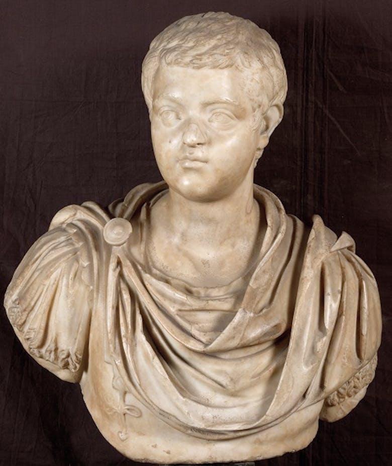 Portrait of Diadumenian (also known as Geta)