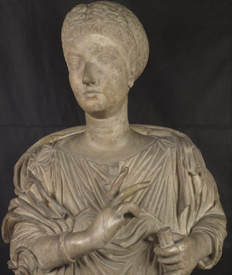 Portrait of Vibia Sabina so-called Matidia