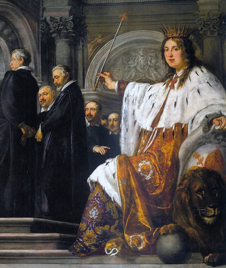 Il giuramento di fedeltà del Senato fiorentino a Ferdinando II de' Medici