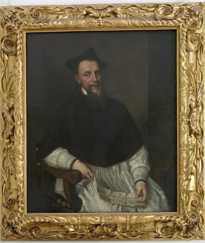 Portrait of Bishop of Bologna, Ludovico Beccadelli (1501-1572)
