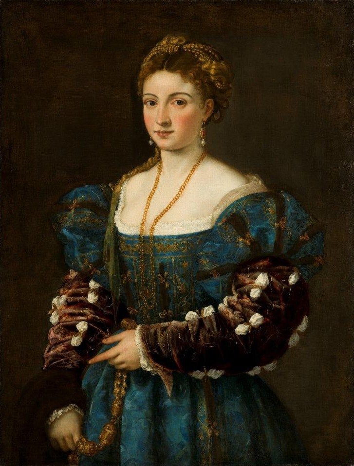 Of lady a portrait the