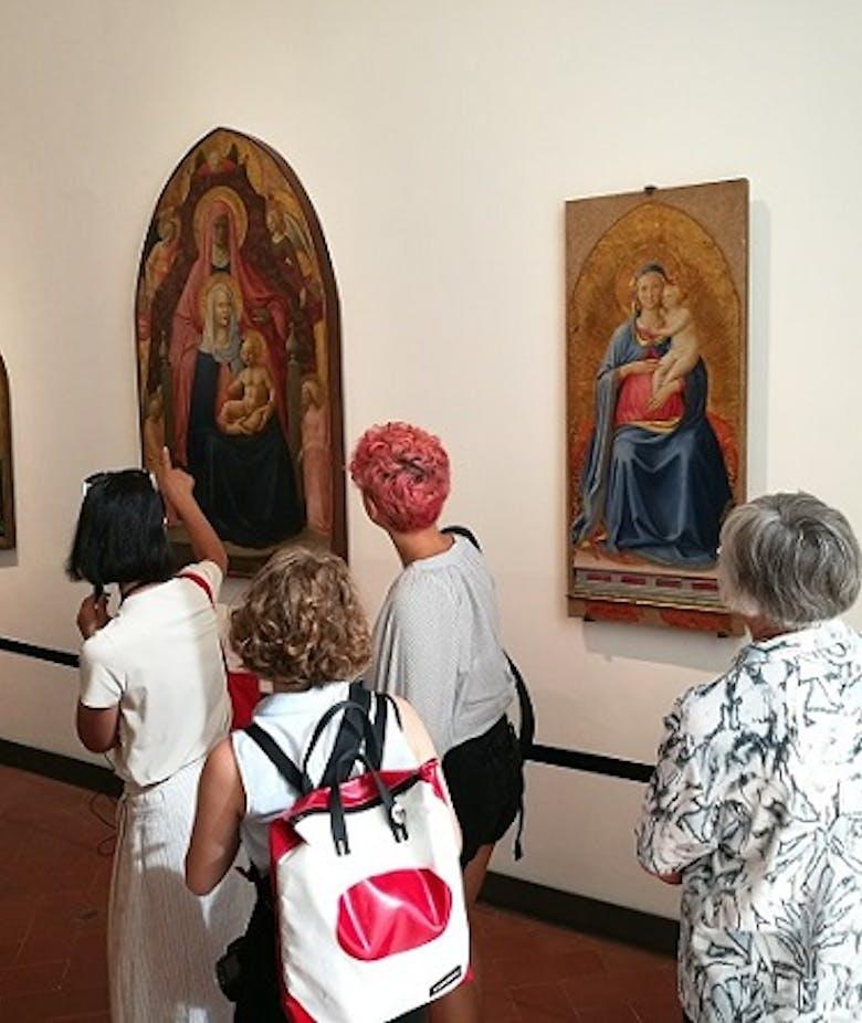 Nuovo allestimento della Sala 7 degli Uffizi dedicata a Masolino, Masaccio e Beato Angelico
