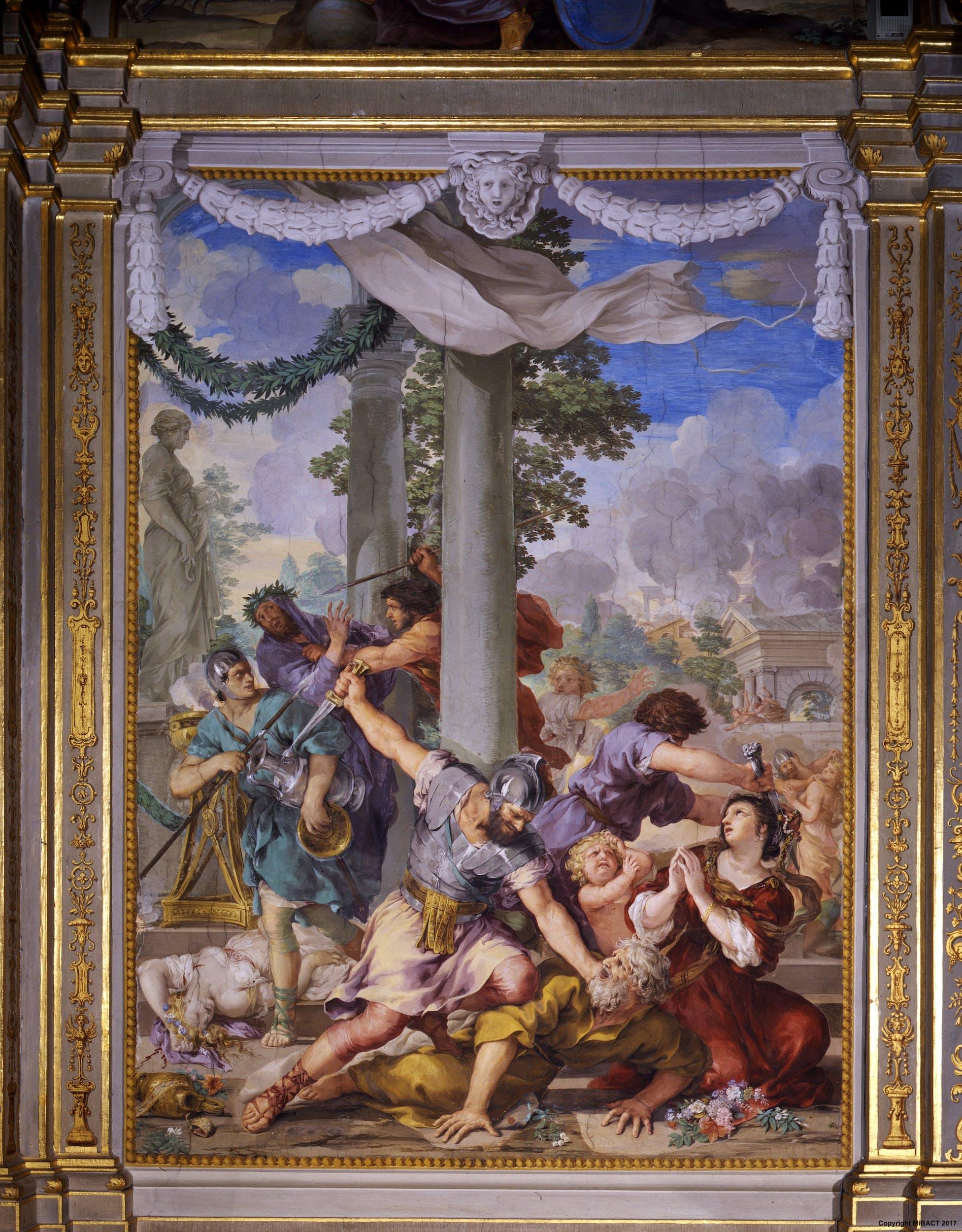 Pietro da Cortona, età del ferro | Iron age
