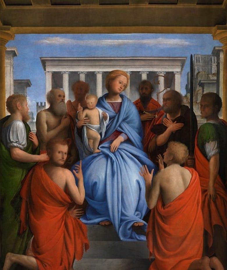 Madonna col Bambino e otto santi