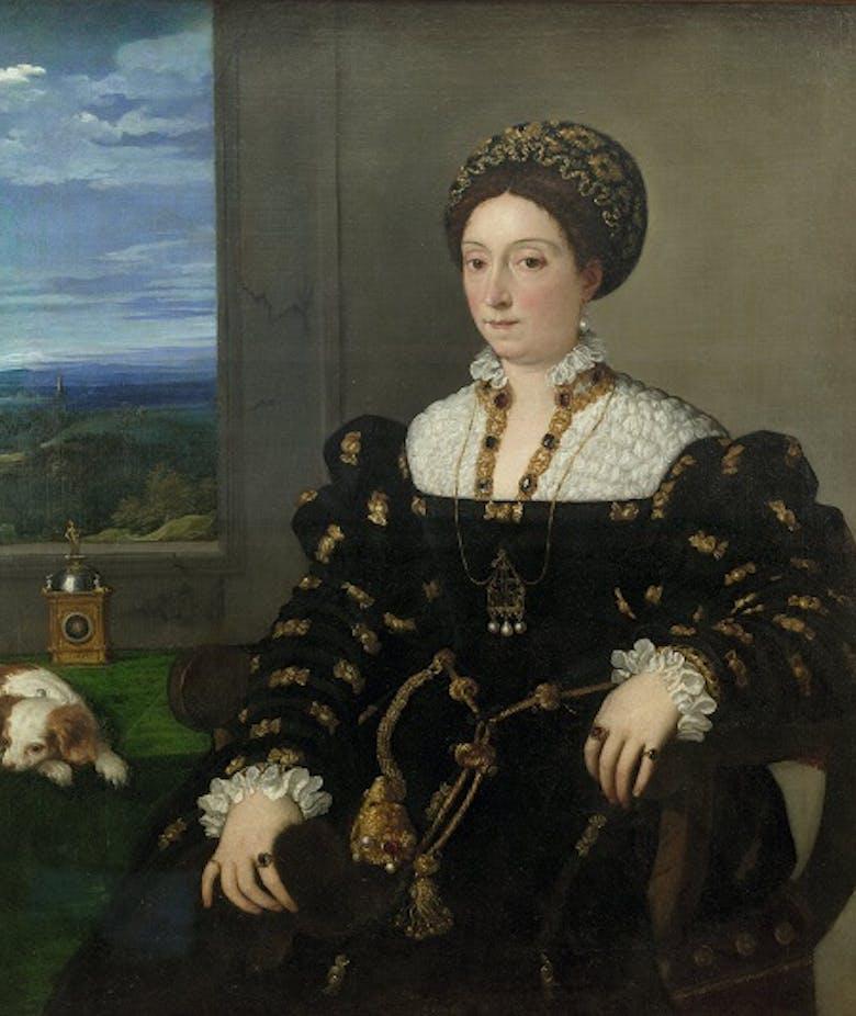 Portrait of Eleonora Gonzaga, Duchess of Urbino