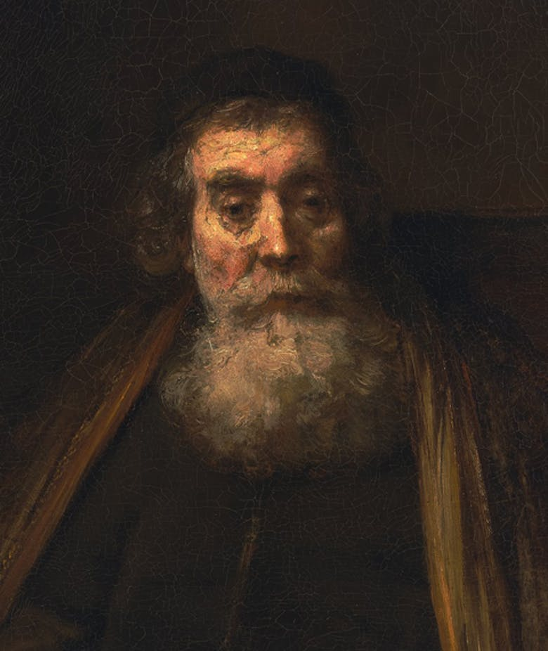 Portrait of an old man, (The Old Rabbi)