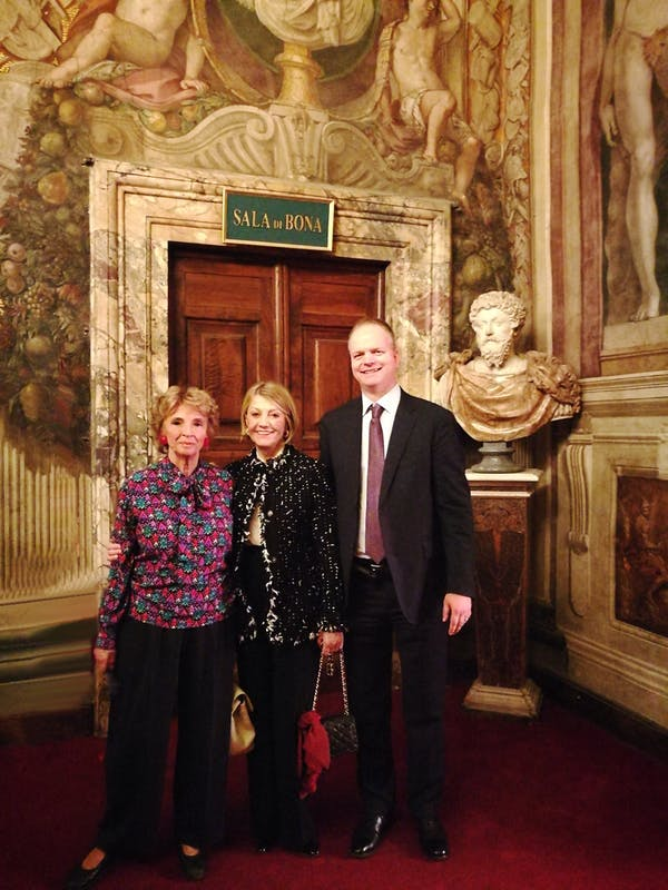Maria Vittoria Rimbotti Colonna, Veronica Atkins e Eike Schmidt