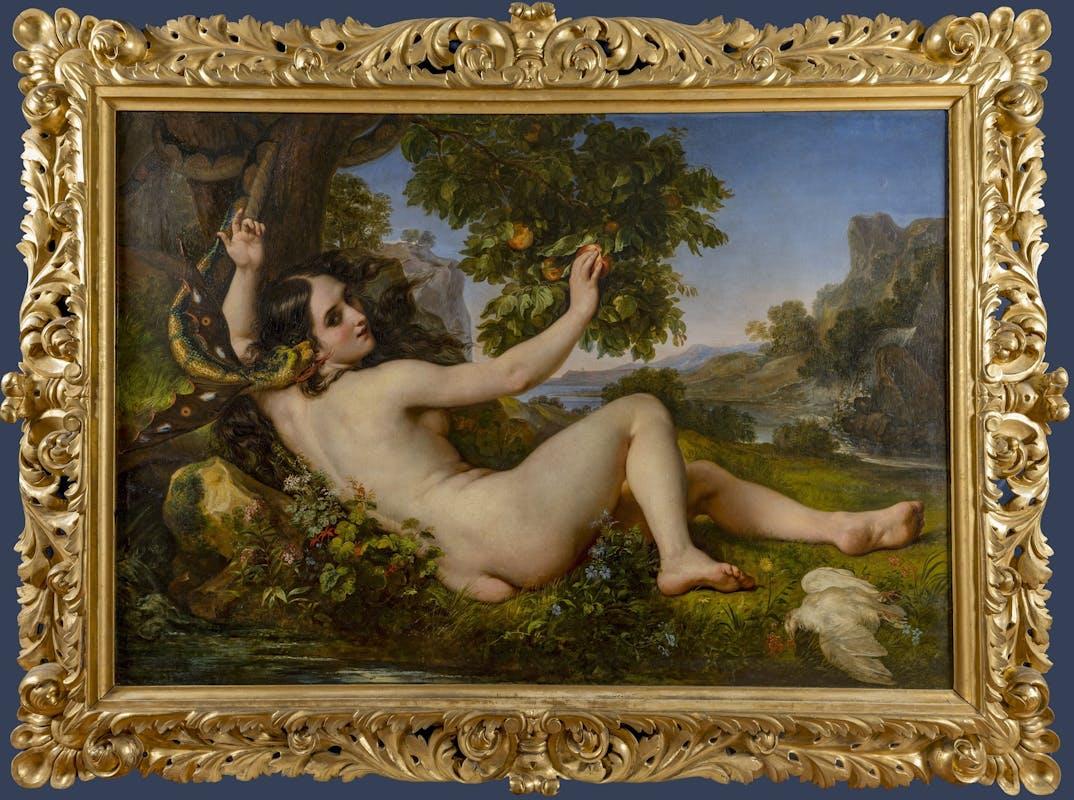 Giuseppe Bezzuoli, Eva tentata dal serpente