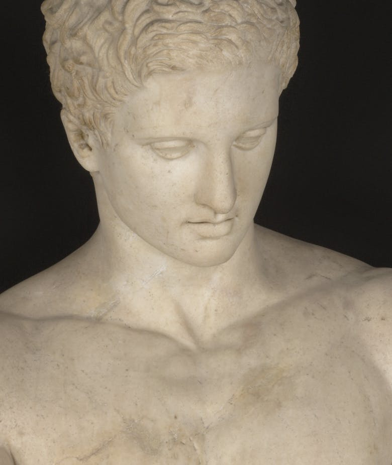 Apoxyomenos (Athlete with a Scraper), Roman Art