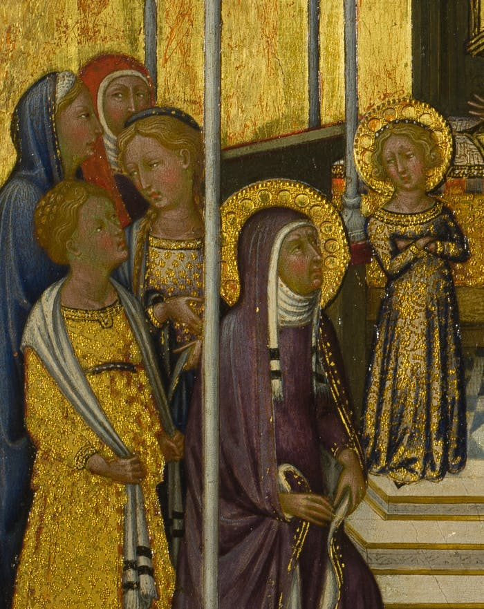 Presentation of the Virgin in the Temple by Niccolò di Buonaccorso