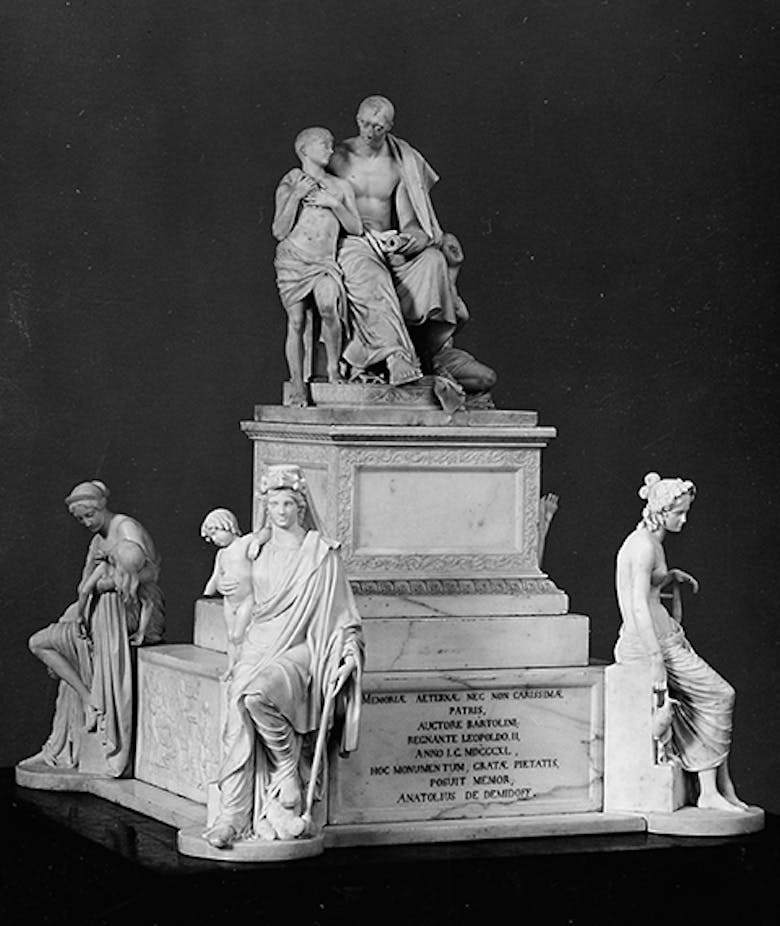 Model of the Monument to Nicola Demidoff