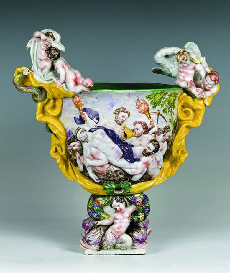 The Princes' fragile treasures the paths of porcelain between Vienna and Florence