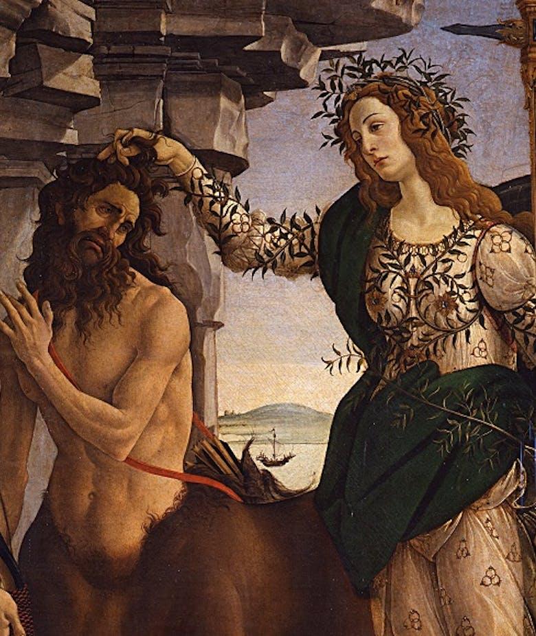 Minerva e il centauro
