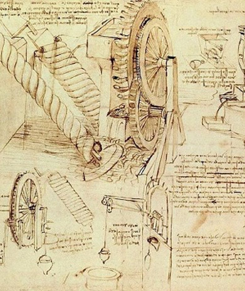 Strumenti e cose che saran di gran piacere al nostro cristianissimo Re. Leonardo e la Francia: acqua, congegni e automazioni
