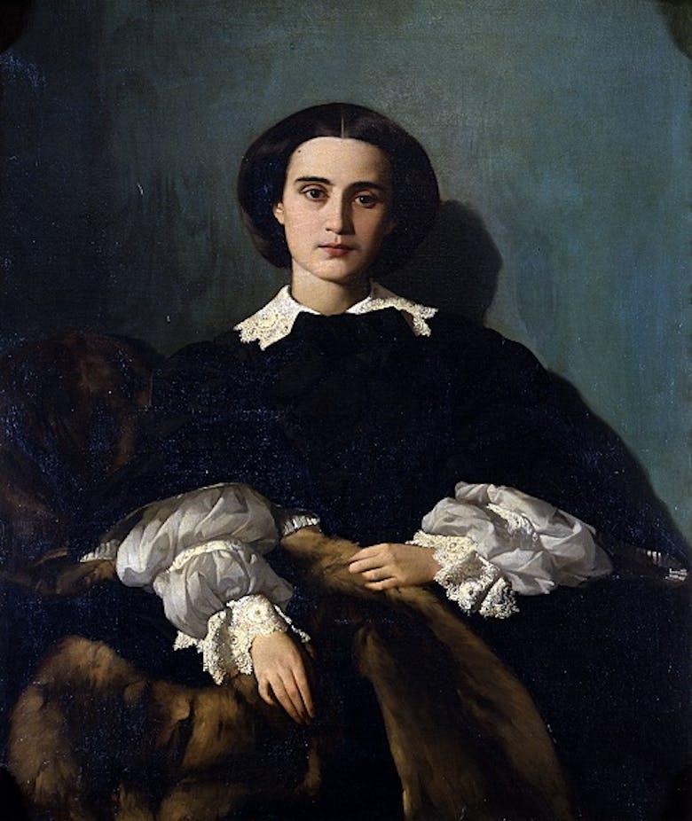 Portrait of Signora Morrocchi