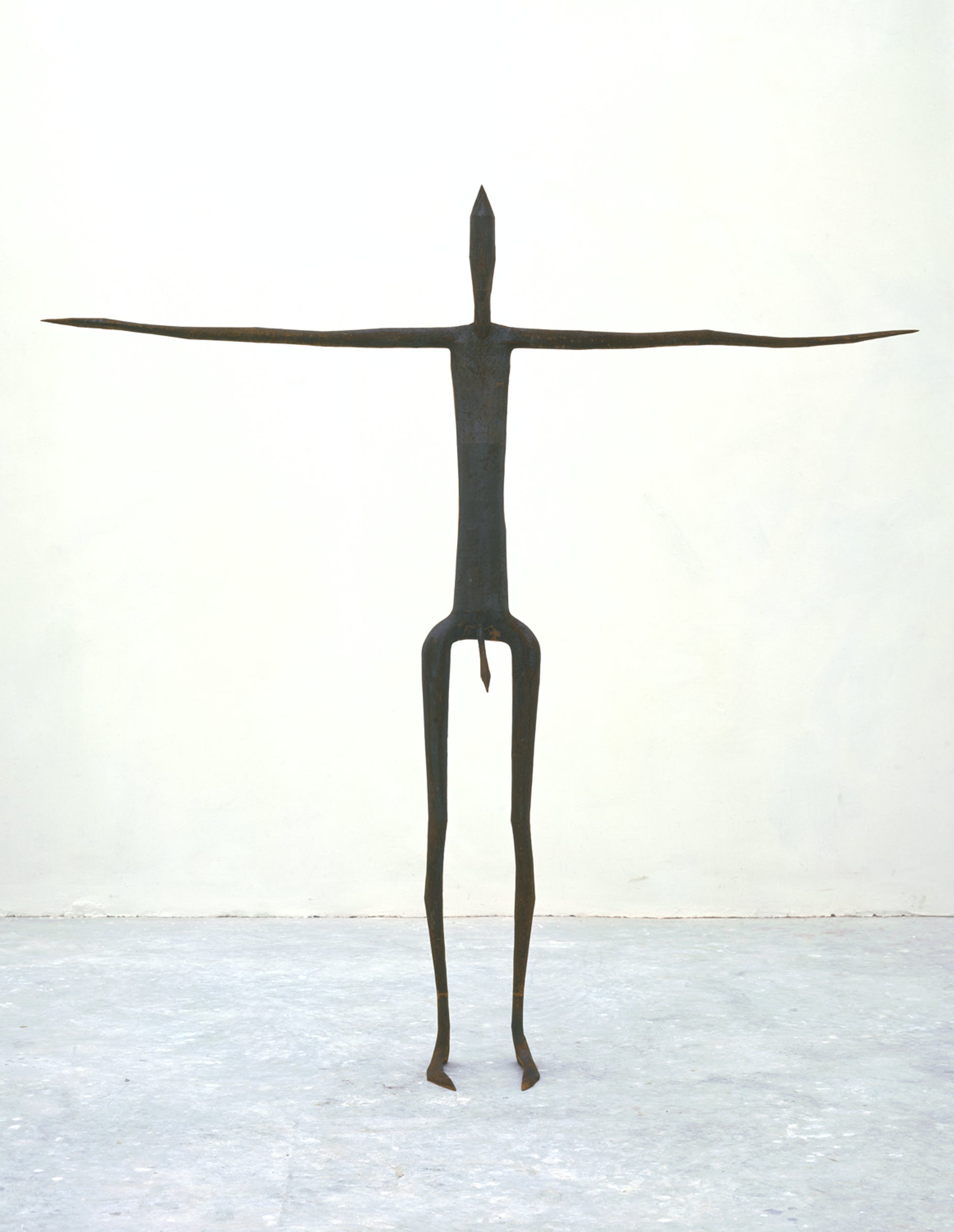 Antony Gormley, Insider II, 1997 Ghisa 193 x 191 x 27 cm Foto di Stephen White, London © the artist