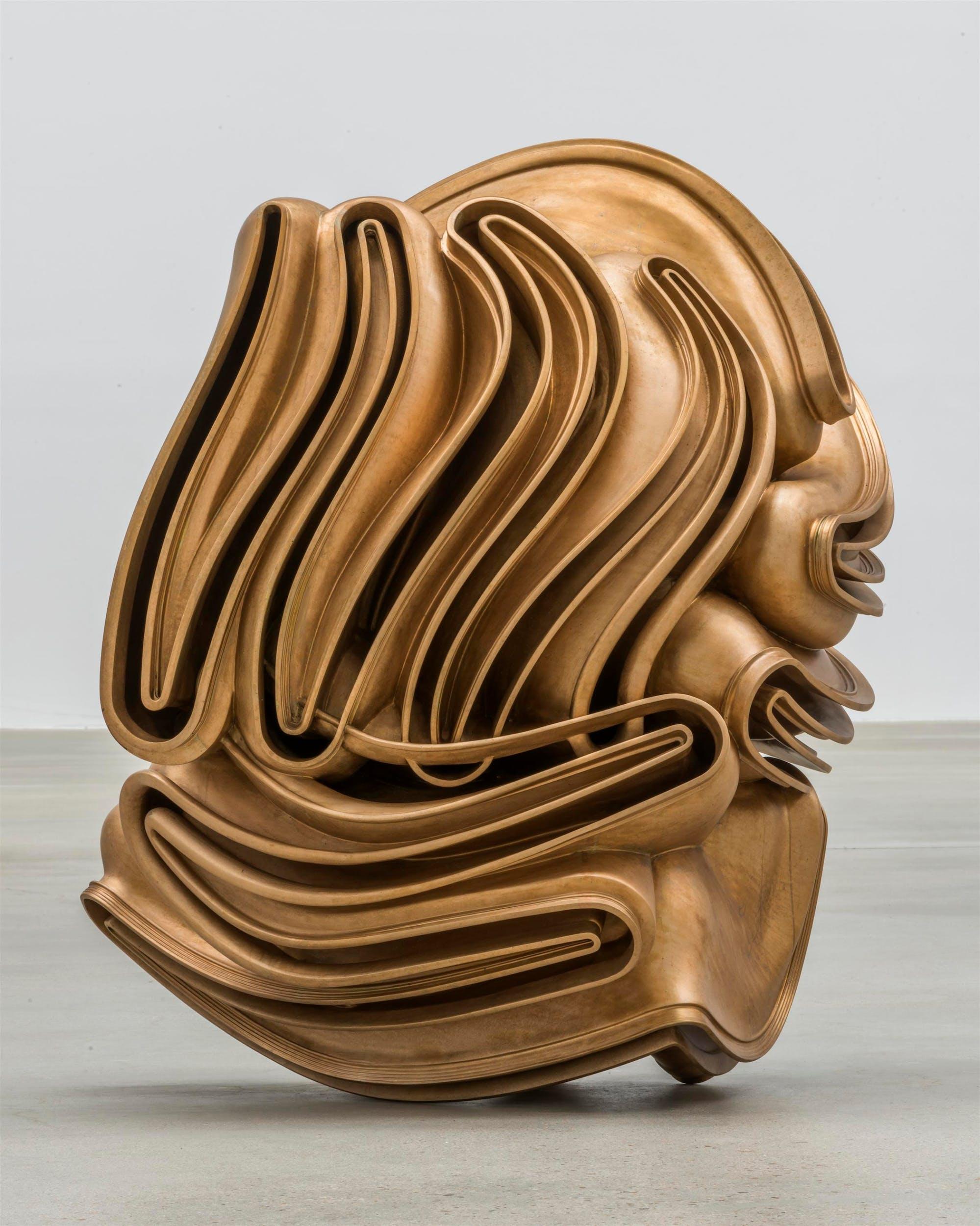 Tony Cragg, Foreign Body 2015 bronzo Collezione privata