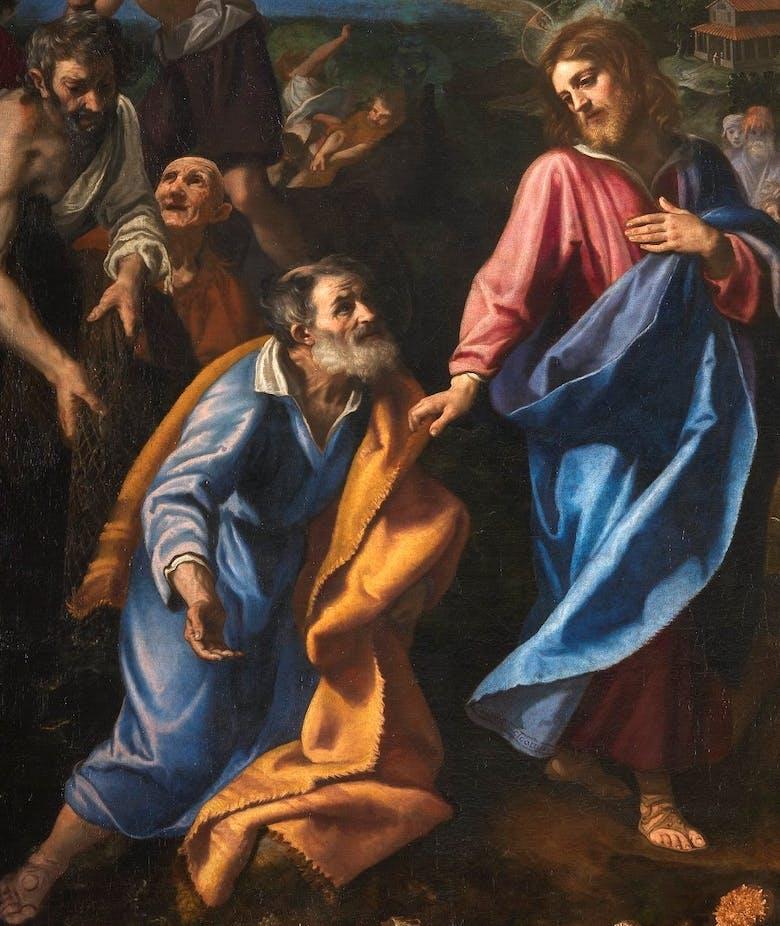 Vocazione di San Pietro e Sant'Andrea