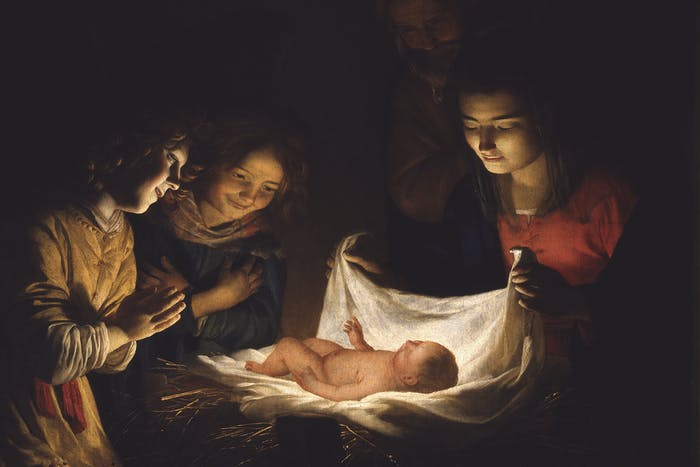 """Today a Saviour has been born to you"""