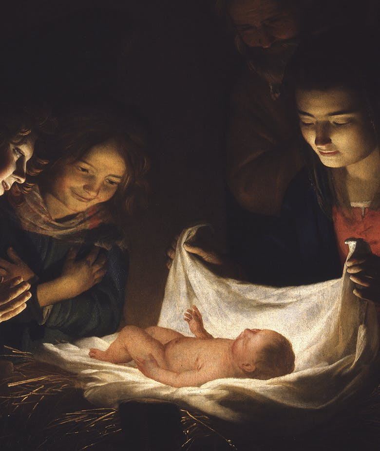 """Today a Saviour has been born to you"""