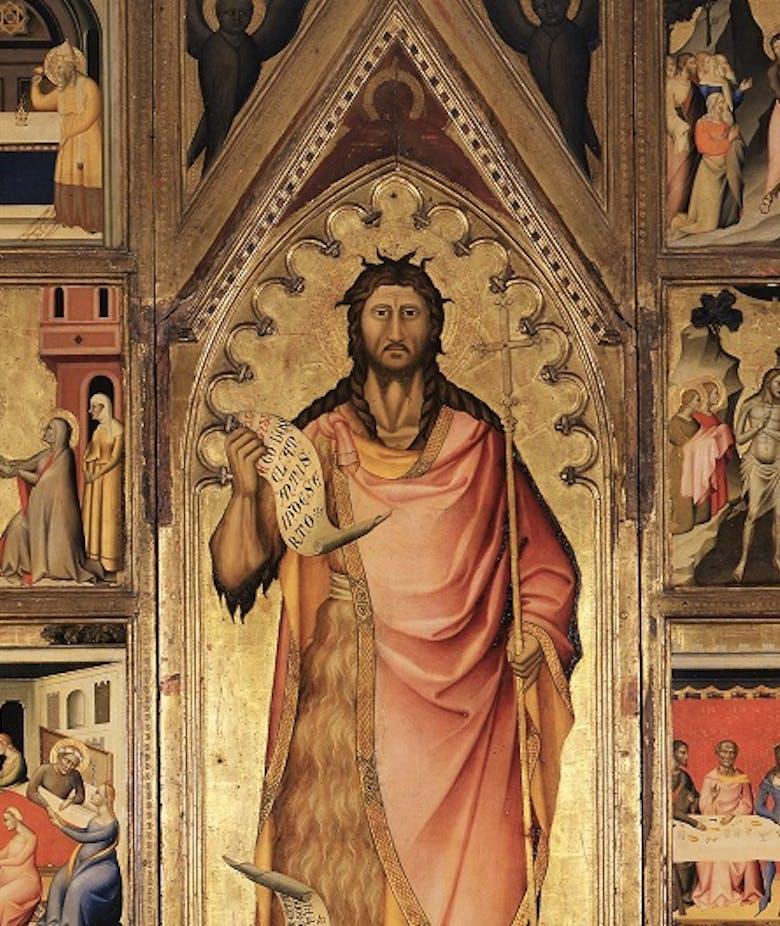 San Giovanni Battista e storie della sua vita