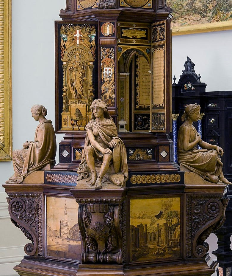 Cabinet for the Crown of the King of Italy