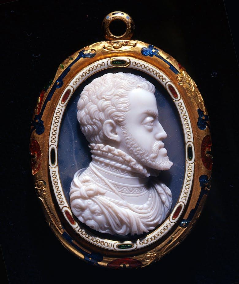 Busto di Filippo II di Spagna (recto); Busto di Don Carlos (verso)