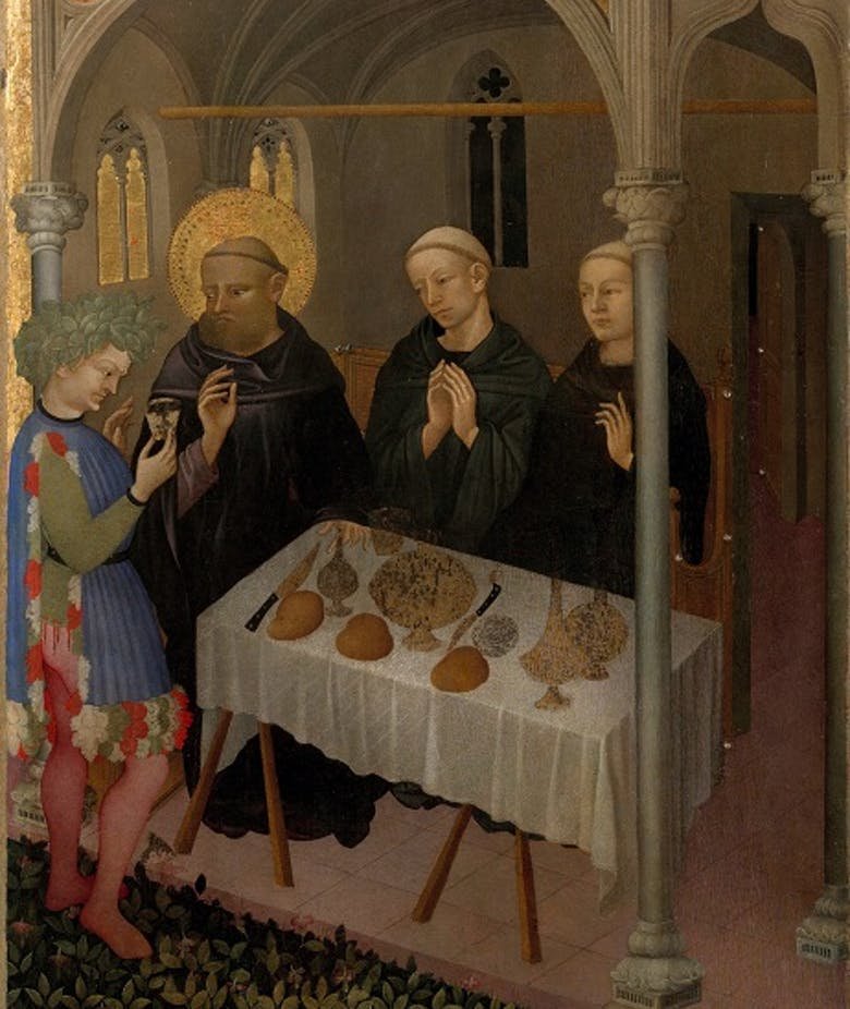 St Benedict and the Poisoned Wine