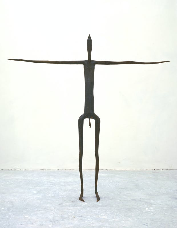 Antony Gormley Insider II, 1997 Ghisa 193 x 191 x 27 cm Foto di Stephen White, London © the artist