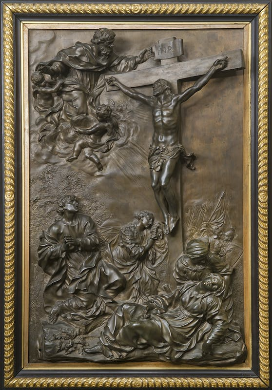 Giovan Battista Foggini Crocifissione 1677 bronzo Tesoro dei Granduchi, Gallerie degli Uffizi, Firenze
