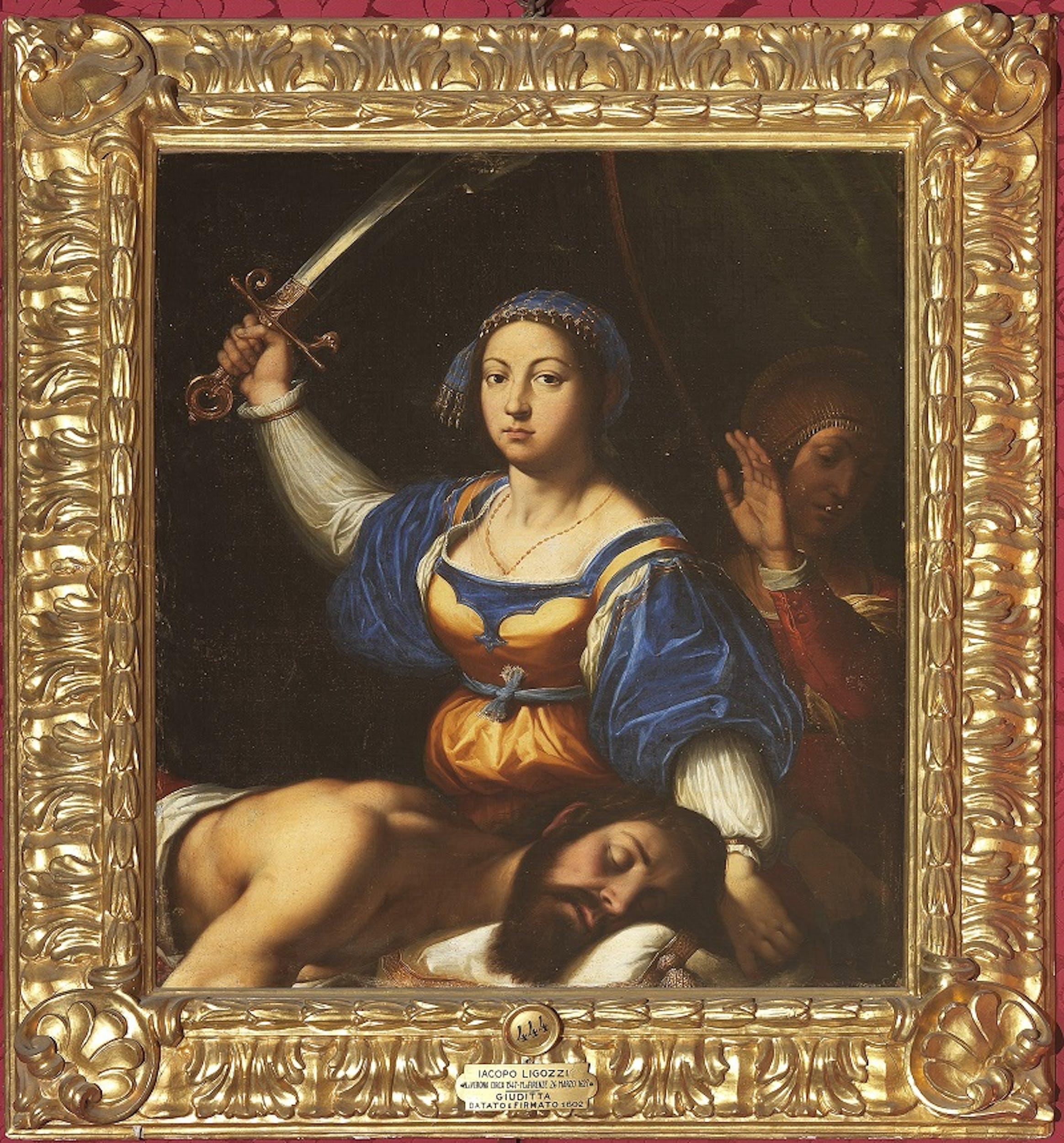 Jacopo Ligozzi, Giuditta e Oloferne
