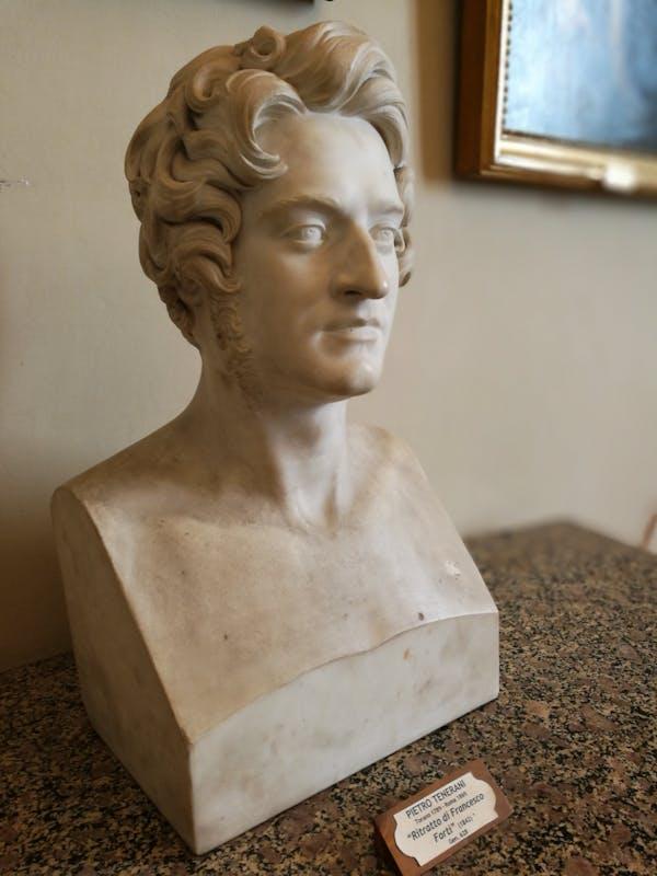 Pietro Tenerani, Ritratto di Francesco Forti
