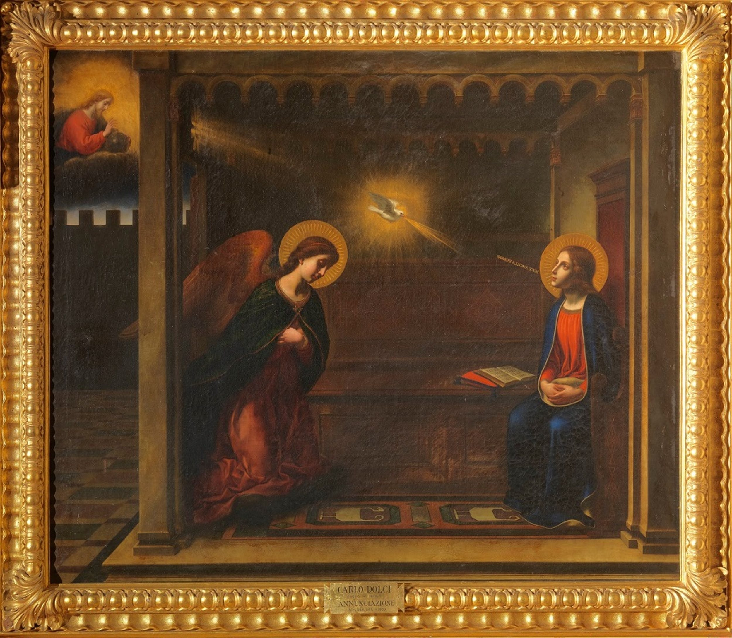 Annunciazione - Carlo Dolci (dall'Annunciazione della Ss.ma Annunziata)