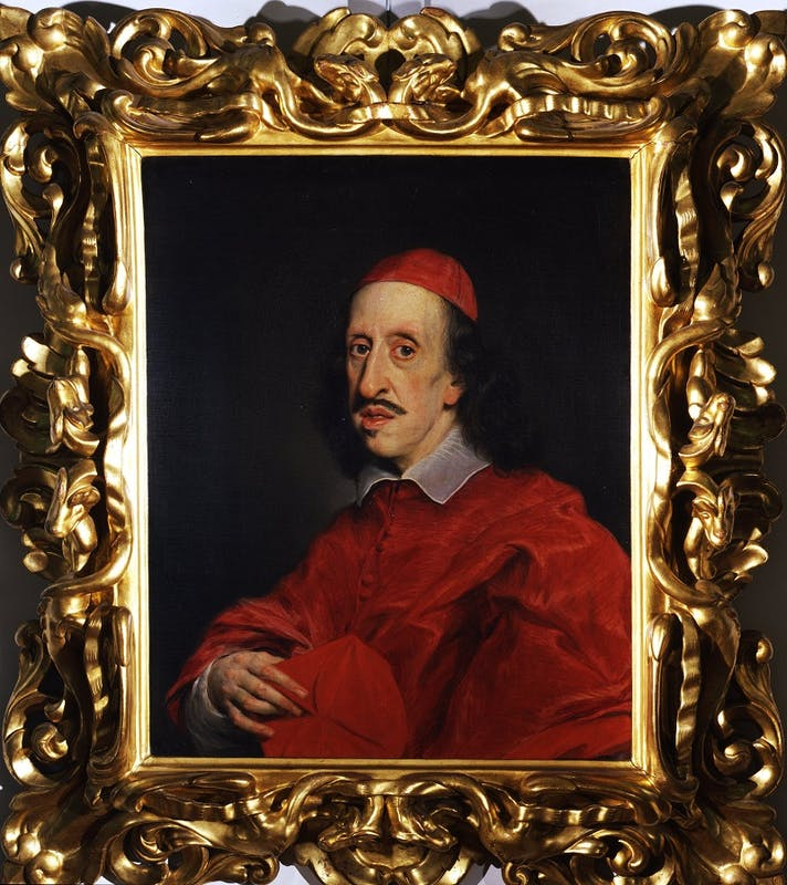 Cardinal Leopoldo de'Medici - Gaulli Giovanni Battista detto Baciccio